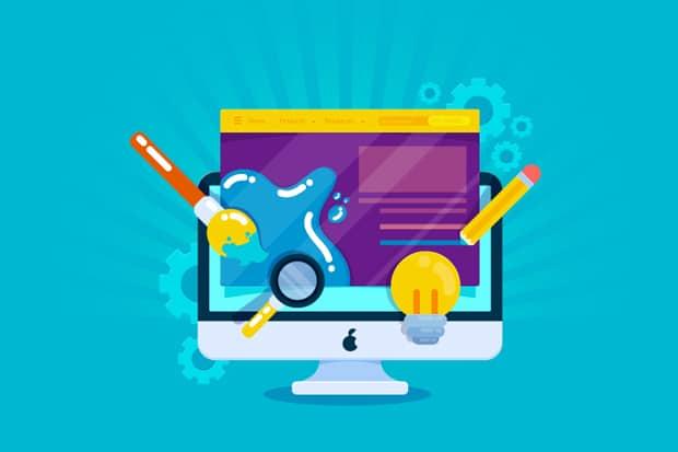 Personnalisation design WordPress CMS pour site d'artisans