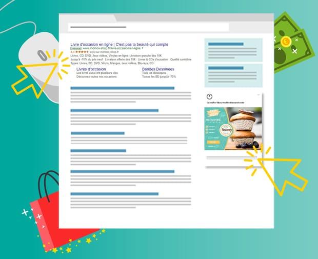 Publicité Adwords augmente la visibilité de l'entreprise